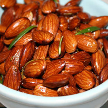 Slow Roasted Almonds