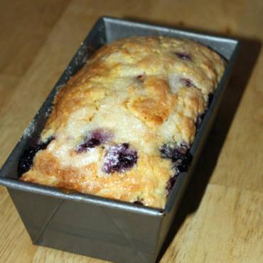 Lemon Blueberry Tea Cake