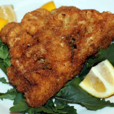 Fried Cauliflower Schnitzel