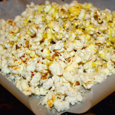 Black Pepper & Asiago Popcorn