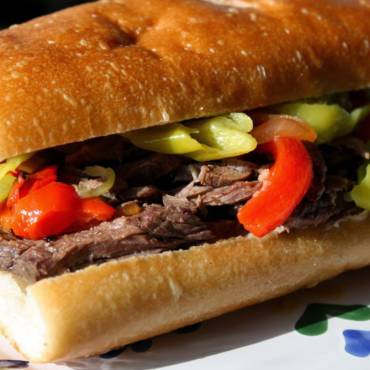 Roasted Italian Beef Sandwiches