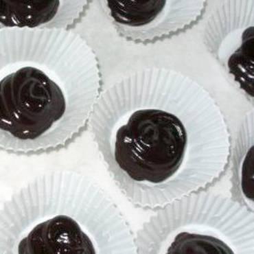 Dark Chocolate Vanilla Truffles
