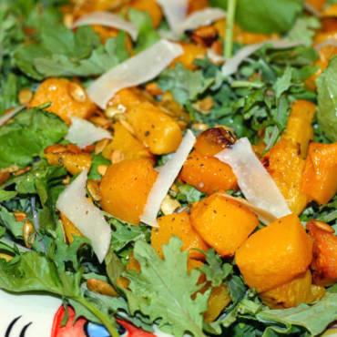 Butternut Squash & Pumpkin Seed Salad