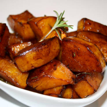 Balsamic Glazed Butternut Squash