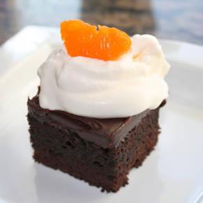 Chocolate Cake & Orange Ganache