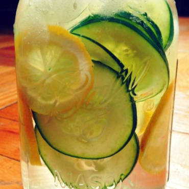Lemon Cucumber Shrub