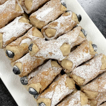 Blueberry Lemon Cannoli