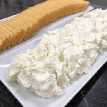 Homemade Sicilian Lemon Ricotta